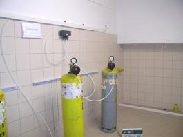 Chlorátory na tlakových lahvích